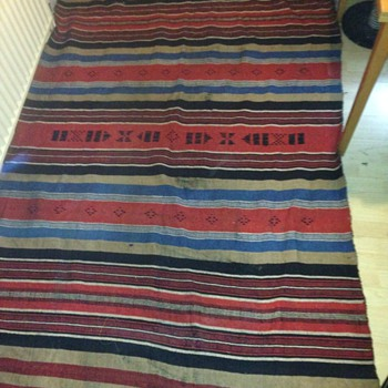 Old hand made rug 4 of 4 - Rugs and Textiles