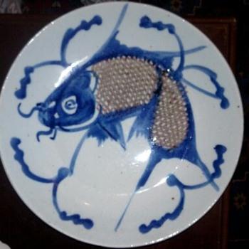 fish dish - Asian