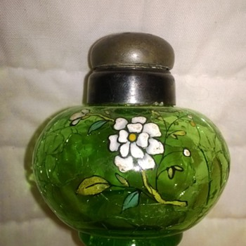 Crackle Glass Shakers - Art Glass