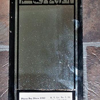 Liquor Store Mirror Calendar 1941 - Advertising