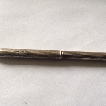 Vintage silver pen - Pens