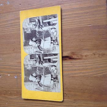"Rare French Stereoviews ""Les Metamorphoses Du Jour"" Photos - Photographs"