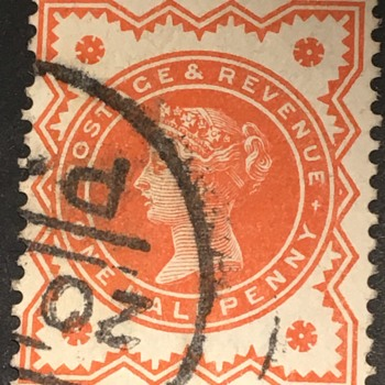 Old English stamp  - Stamps