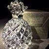 """1927 Pineapple """"Hand Made Crystal Taiwan"""""""