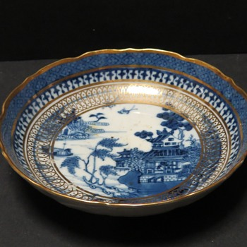 Antique Georgian Blue and White Saucer - and more! - China and Dinnerware