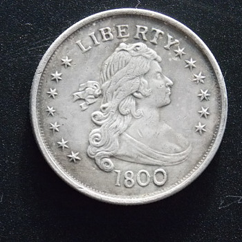1800 Bust Dollar - Is This Real?