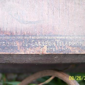 Vintage Stromburg Carlson crank desk phone - Telephones