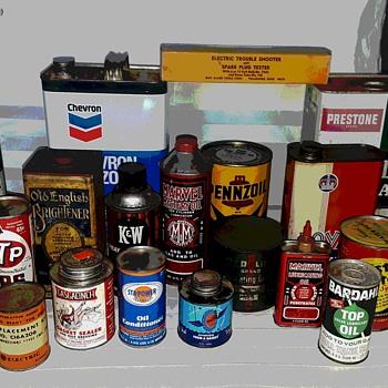 Vintage auto products - Petroliana