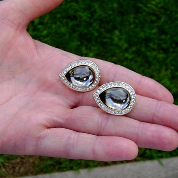Daniel Swarovski Earrings - Costume Jewelry
