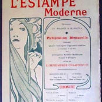L'Estampe Moderne prints, 1897-1899 - Art Nouveau