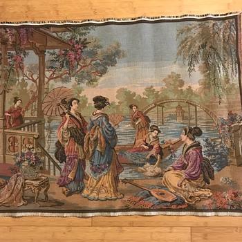 Japanese textile  - Asian