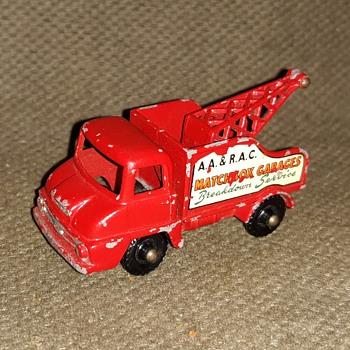 MAJOR MOTORS  Matchbox Monday Thames  Wreck Truck  MB 13 1960 to 1964 - Model Cars