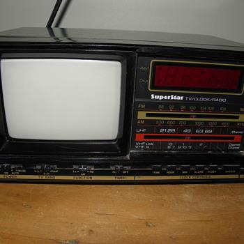 TV-Clock-Radio