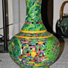 Large Colorful Vase