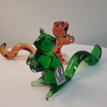 Pilgrim Glass squirrels  - Animals