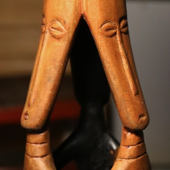 Tall Sculpture Found in Trash - African? - Folk Art