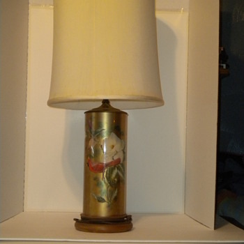Reverse Painted Lamp - Lamps