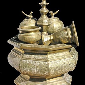 Antique Indonesian brass - Asian