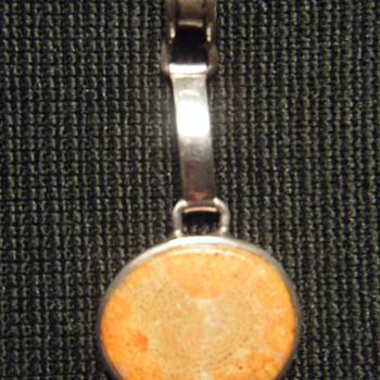 SPONGE CORAL STERLING SILVER PENDANT - Fine Jewelry