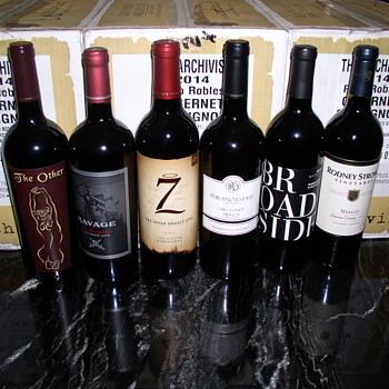 RED Wine bottles  Random scramble  - Bottles
