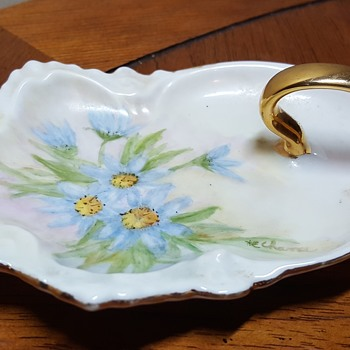 Unmarked Hand Painted Porcelain