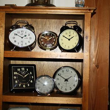 Alarm Clock Collection - Clocks