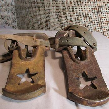 Antique Cast Iron Saddle Stirrups??? - Tools and Hardware