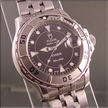 Rolex Tiger Tudor Prince Wristwatch