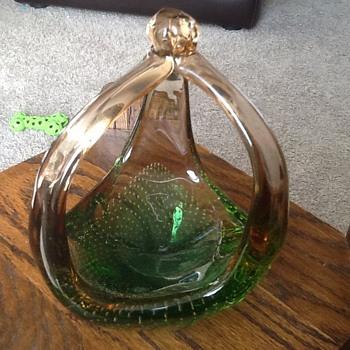 2 tone glass - Art Glass