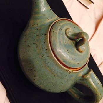 Pottery Teapot - Pottery