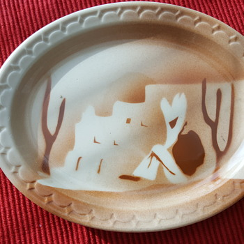 Syracuse Resteraunt Ware Southwestern Platter - China and Dinnerware
