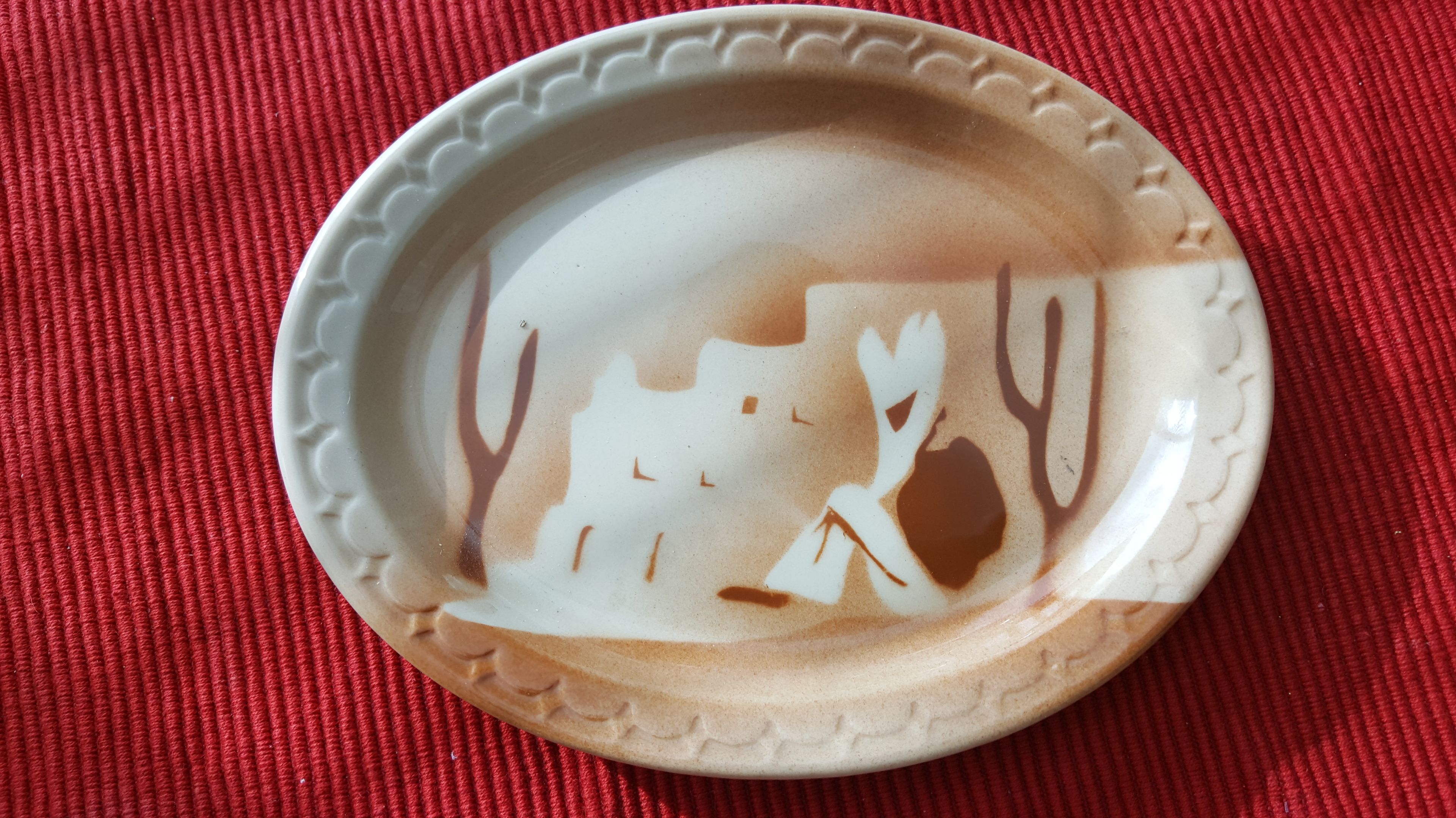 Syracuse Resteraunt Ware Southwestern Platter | Collectors ...