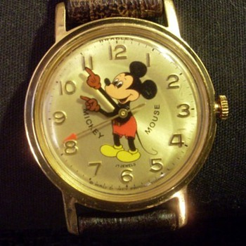 Bradley 17 jewels Mickey Mouse & Golay