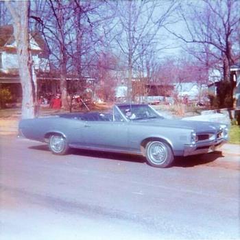 1966 Pontiac Lemans Convertible/my first car