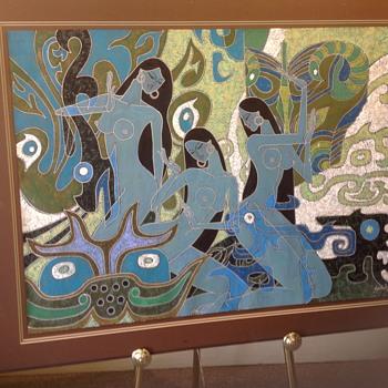 Zu Ming Ho Original Painting - Fine Art