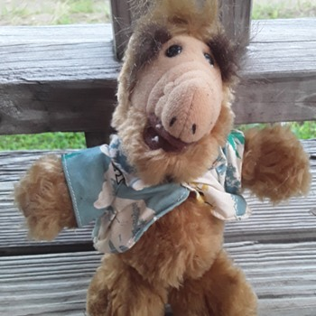 "1989 Alien Productions ""ALF"" Stuffed Collectible  - Toys"