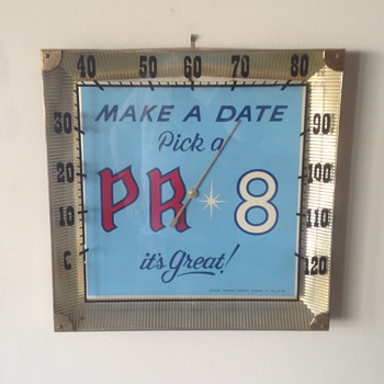 Old Reading Brewery PR 8 Thermometer