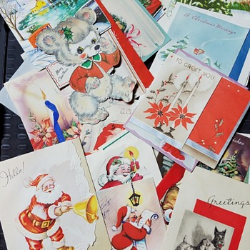 Merry Christmas 1947 - Cards