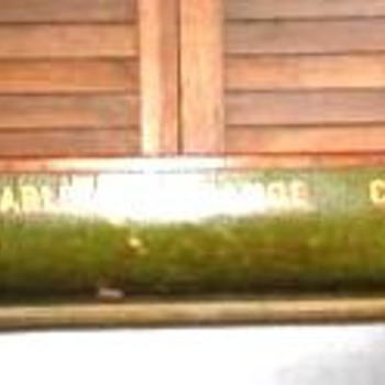"Factory display (""salesman's sample"") Carleton Canoe Co. model, c. 1910-15 - Advertising"
