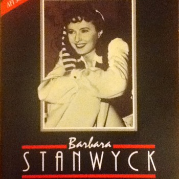 Barbara Stanwyck Life Achievement Award Souvenir Book
