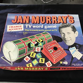 Jan Murray's TV board game 1960's  - Games
