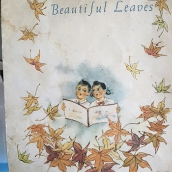 Beautiful Leaves Drawings by Hsaio Shu-fang, Foreign Languages Press Peking 1964