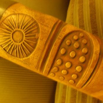 cylindrical pottery vase - Pottery