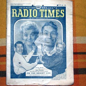 1959-bbc television/radio programmes-'radio times'.