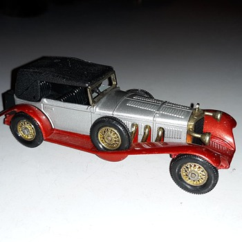 Mas Muy MOY Matchbox Monday Models Of Yesteryear Y-16 1928 Mercedes Benz SS 1972 - Model Cars