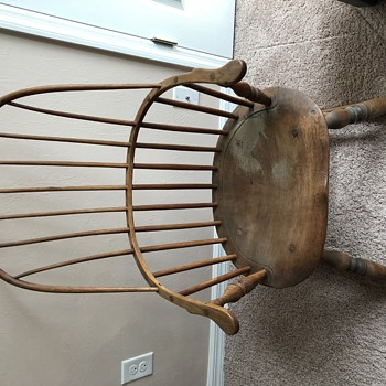 Age and Maker of Rocking Chair - Furniture