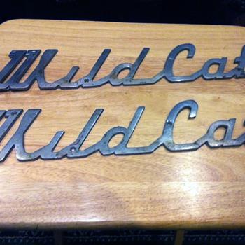 WildCat or Wild Cat Emblem / Nameplate - Signs