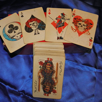Grateful Dead Playing Cards - Music Memorabilia