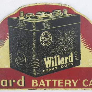 Willard Battery Cable Sign - Advertising