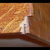 Repair-restoration of  old Singer sewing cabinet drawer.